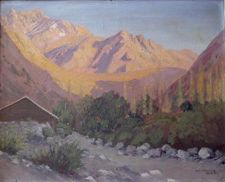 Cordillera near Santiago, 1917